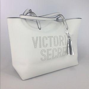NWT VS Perforated Logo Tote Bag